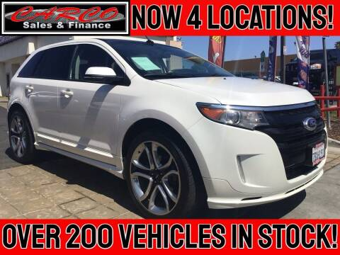 2013 Ford Edge for sale at CARCO SALES & FINANCE - CARCO OF POWAY in Poway CA
