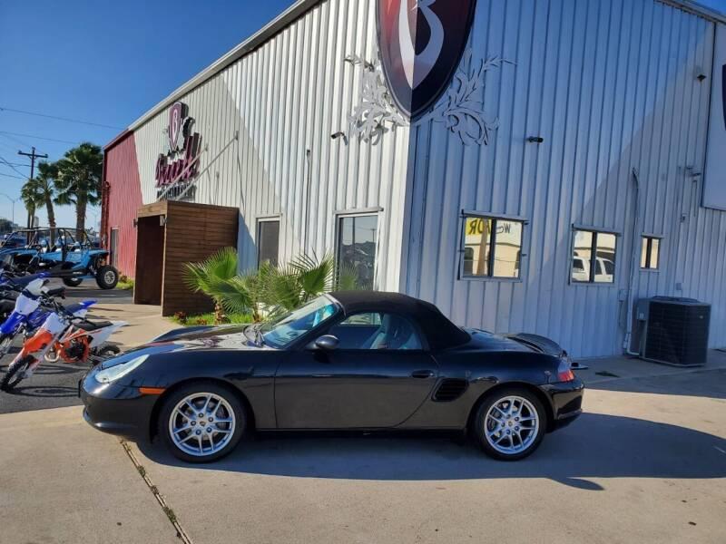 2003 Porsche Boxster for sale at Barrett Auto Gallery in San Juan TX