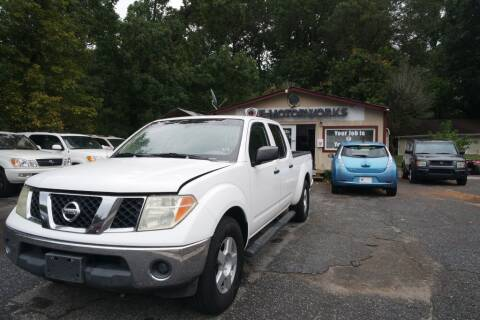 2007 Nissan Frontier for sale at E-Motorworks in Roswell GA