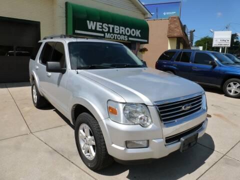 2010 Ford Explorer for sale at Westbrook Motors in Grand Rapids MI