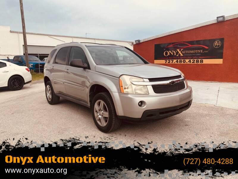 2008 Chevrolet Equinox for sale at ONYX AUTOMOTIVE, LLC in Largo FL