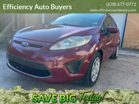 2011 Ford Fiesta for sale at Efficiency Auto Buyers in Milton GA