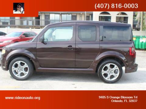 2007 Honda Element for sale at Ride On Auto in Orlando FL