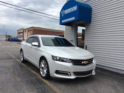 2017 Chevrolet Impala for sale at Browning Chevrolet in Eminence KY