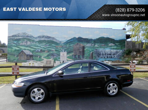 1999 Honda Accord for sale at EAST VALDESE MOTORS / VINSON AUTO GROUP in Valdese NC