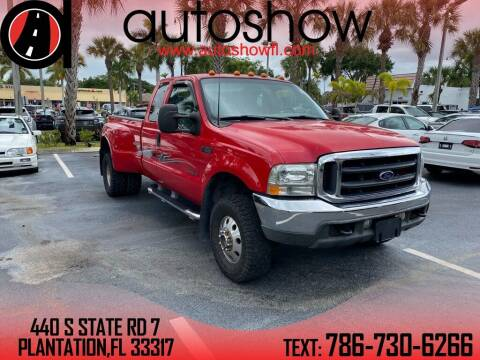 2001 Ford F-350 Super Duty for sale at AUTOSHOW SALES & SERVICE in Plantation FL