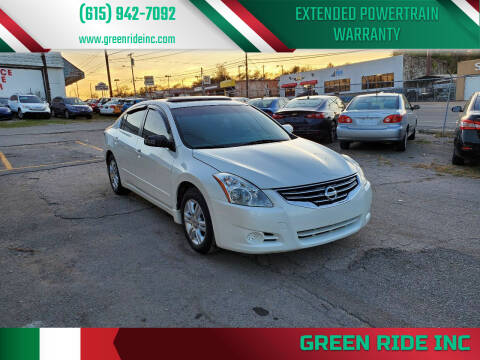 2011 Nissan Altima for sale at Green Ride Inc in Nashville TN
