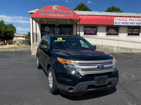 2014 Ford Explorer for sale at Choice Motors of Salt Lake City in West Valley  City UT