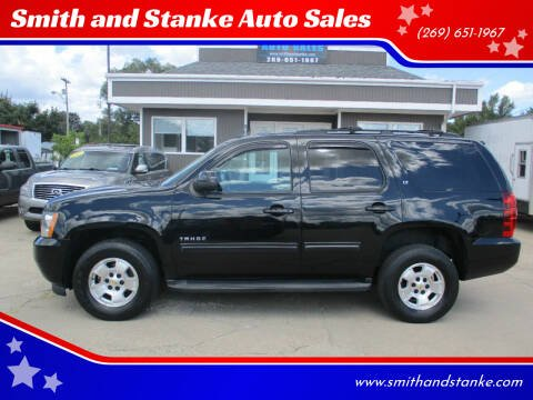 2013 Chevrolet Tahoe for sale at Smith and Stanke Auto Sales in Sturgis MI