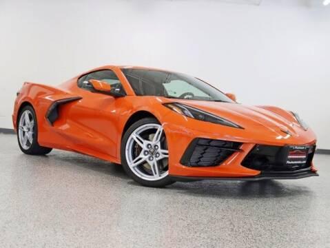 2021 Chevrolet Corvette for sale at PLATINUM MOTORSPORTS INC. in Hickory Hills IL