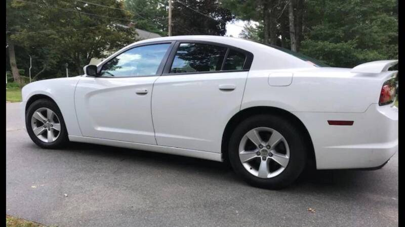 2012 Dodge Charger for sale at BORGES AUTO CENTER, INC. in Taunton MA