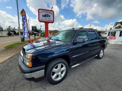 2006 Chevrolet Avalanche for sale at Ford's Auto Sales in Kingsport TN