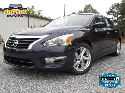 2014 Nissan Altima for sale at High-Thom Motors in Thomasville NC