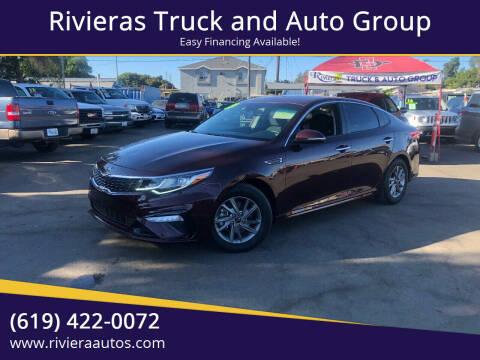 2019 Kia Optima for sale at Rivieras Truck and Auto Group in Chula Vista CA
