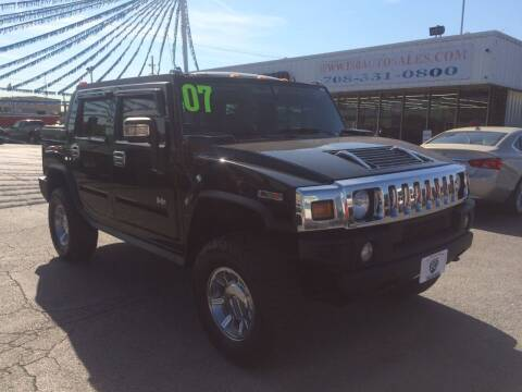 2007 HUMMER H2 SUT for sale at I-80 Auto Sales in Hazel Crest IL