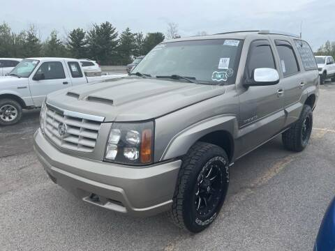 2002 Cadillac Escalade for sale at Trocci's Auto Sales in West Pittsburg PA