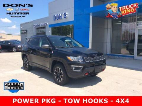 2020 Jeep Compass for sale at DON'S CHEVY, BUICK-GMC & CADILLAC in Wauseon OH