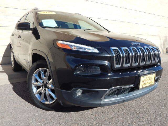 2015 Jeep Cherokee for sale at Altitude Auto Sales in Denver CO