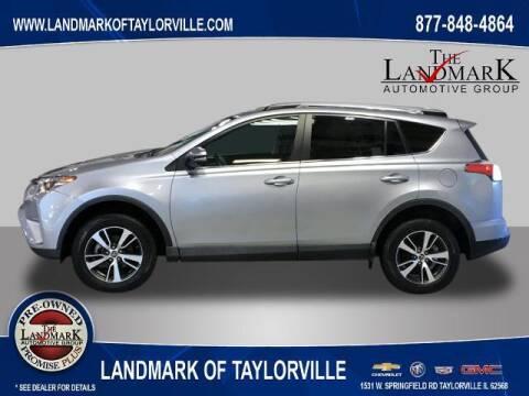 2018 Toyota RAV4 for sale at LANDMARK OF TAYLORVILLE in Taylorville IL