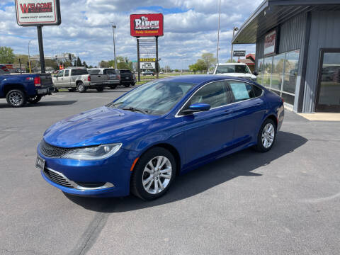 2015 Chrysler 200 for sale at Welcome Motor Co in Fairmont MN