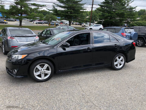2013 Toyota Camry for sale at Matrone and Son Auto in Tallman NY