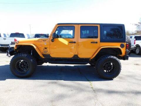 2012 Jeep Wrangler Unlimited for sale at Super Cars Direct in Kernersville NC