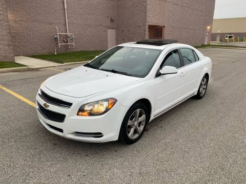 2011 Chevrolet Malibu for sale at JE Autoworks LLC in Willoughby OH