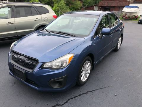 2013 Subaru Impreza for sale at JB Auto Sales in Schenectady NY