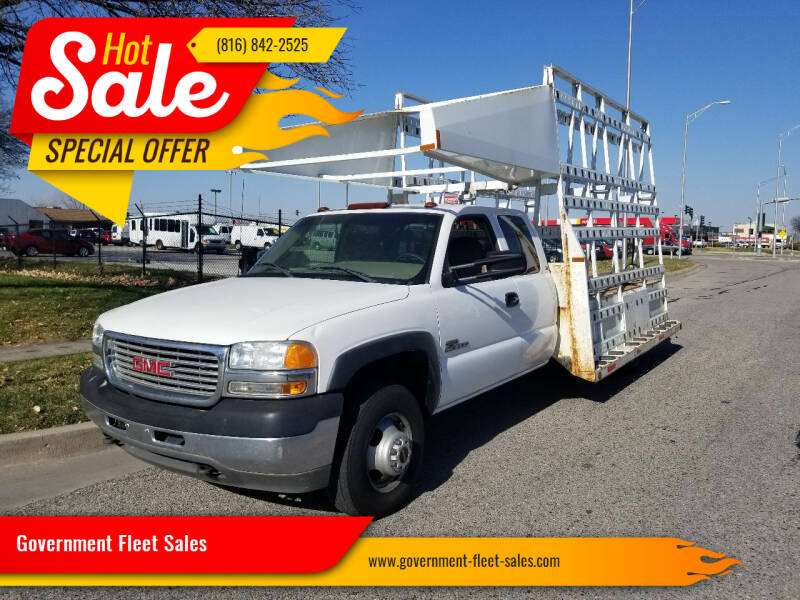 2001 GMC Sierra 3500 for sale at Government Fleet Sales in Kansas City MO