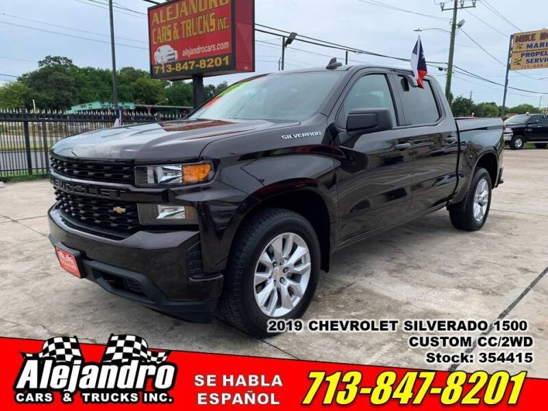 2019 Chevrolet Silverado 1500 for sale at Alejandro Cars & Trucks Inc in Houston TX