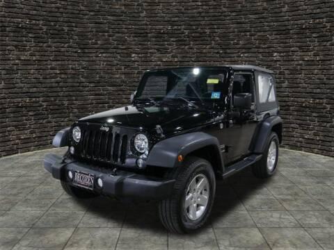 2015 Jeep Wrangler for sale at Montclair Motor Car in Montclair NJ