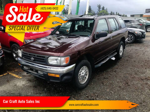 1999 Nissan Pathfinder for sale at Car Craft Auto Sales Inc in Lynnwood WA
