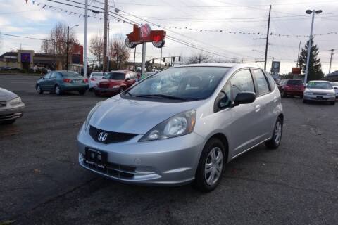 2011 Honda Fit for sale at Leavitt Auto Sales and Used Car City in Everett WA