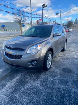 2010 Chevrolet Equinox for sale at SVS Motors in Mount Morris MI