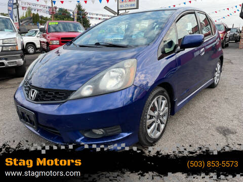 2012 Honda Fit for sale at Stag Motors in Portland OR