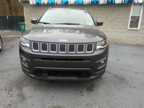 2018 Jeep Compass for sale at Riverside Auto Sales in Saint Albans WV