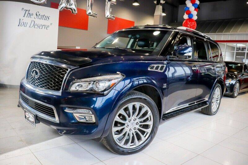 2015 Infiniti QX80 for sale at Quality Auto Center in Springfield NJ