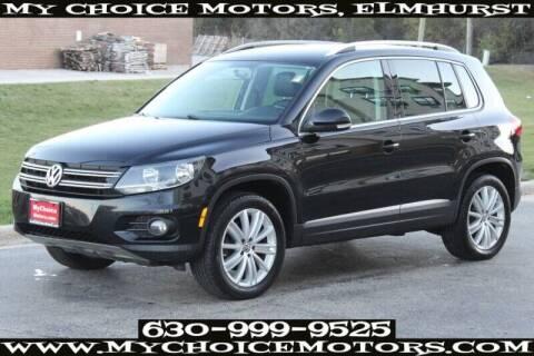 2013 Volkswagen Tiguan for sale at My Choice Motors Elmhurst in Elmhurst IL