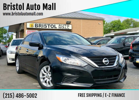 2017 Nissan Altima for sale at Bristol Auto Mall in Levittown PA