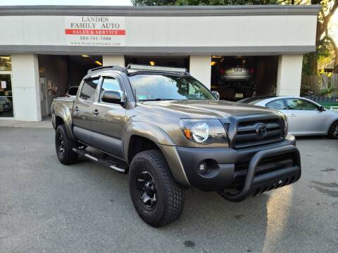 2009 Toyota Tacoma for sale at Landes Family Auto Sales in Attleboro MA
