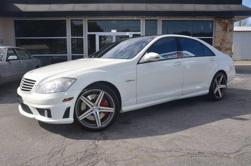 2008 Mercedes-Benz S-Class for sale at Amyn Motors Inc. in Tucker GA