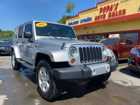 2012 Jeep Wrangler Unlimited for sale at Popas Auto Sales in Detroit MI