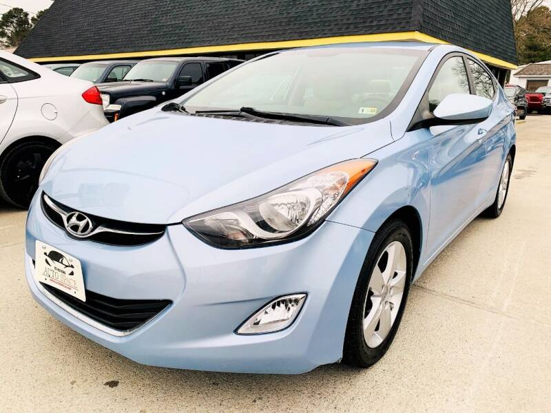 2012 Hyundai Elantra for sale at Auto Space LLC in Norfolk VA