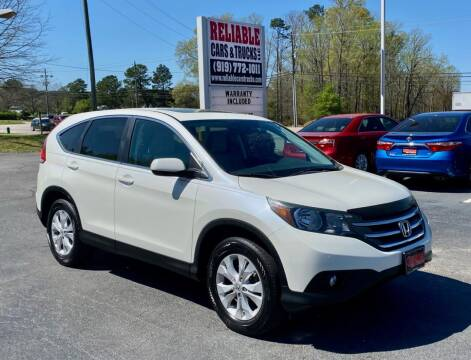 2014 Honda CR-V for sale at Reliable Cars & Trucks LLC in Raleigh NC