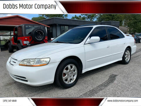 2002 Honda Accord for sale at Dobbs Motor Company in Springdale AR