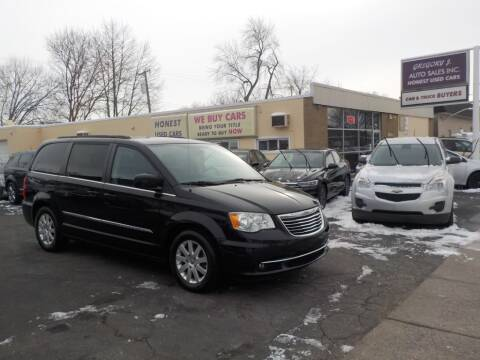 2014 Chrysler Town and Country for sale at Gregory J Auto Sales in Roseville MI