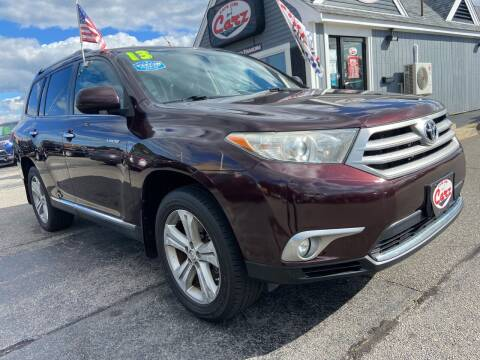 2013 Toyota Highlander for sale at Cape Cod Carz in Hyannis MA