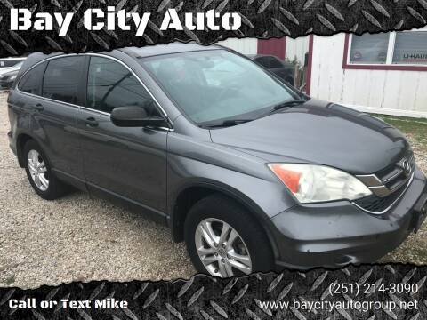 2010 Honda CR-V for sale at Bay City Auto's in Mobile AL