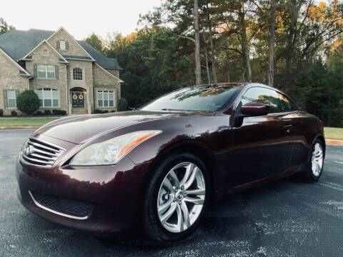 2010 Infiniti G37 Convertible for sale at Top Notch Luxury Motors in Decatur GA
