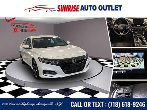 2020 Honda Accord for sale at Sunrise Auto Outlet in Amityville NY